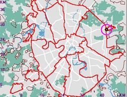 405db8f863cd Карта-навигатор, положение объекта на карте Москвы АШАН Сити Щёлково ТЦ